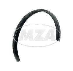 Schutzblech für Mopedanhänger - schwarz, ohne Lochungen - Länge ca. 1060 mm
