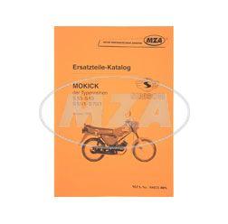 Ersatzteilkatalog Mokick S53-S83, S51/1-S70/1 - Ausgabe 1993