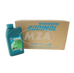 1 Karton ADDINOL MZ 405 SUPER MIX, Motorenöl  (rot gefärbt) 2 Takt Mischöl, mineralisch, 12x1L Dose (Bestellmenge 1 = VPE 12L)  (11 Liter bezahlen, 1 Liter GRATIS)