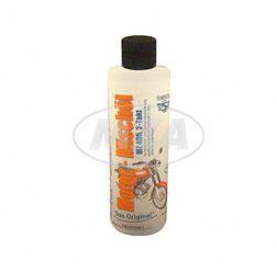 ADDINOL - für unterwegs - MZ405 SUPER MIX, 2-Takt-Motorenöl, rot gefärbt, mineralisch, 120ml Flasche