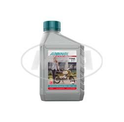 ADDINOL GL80W, Getriebeöl API GL 3, mineralisch, MZA-Sammler-Edition, Motiv: Habicht, tundragrau/ weiß - 0,6 L Dose