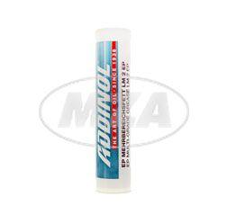 ADDINOL LM2 Fett Patrone (Kartusche), Mehrbereichsfett bis 140 Grad, Mineralölbasis, 400g Kartusche