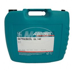 ADDINOL GL140, Getriebeöl, (SAE-Klasse 140) teilsynthetisch, 20 L Kanister