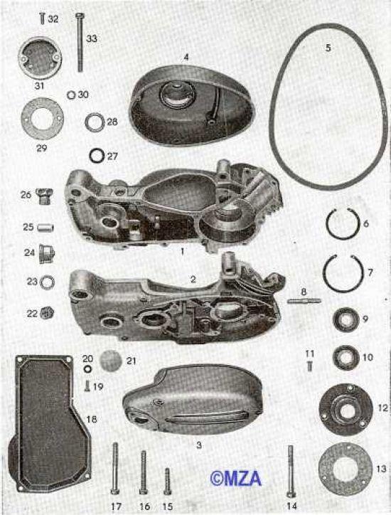 15. Gehäuse