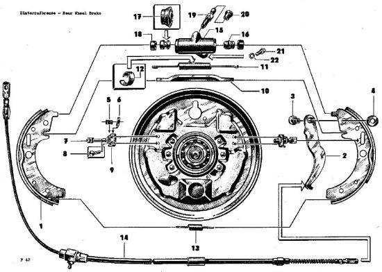F42 Hinterradbremse