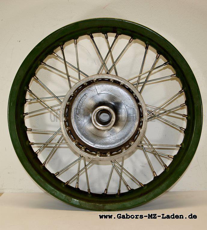 Vorderrad NVA mit Alu-Felge 2,15-16 ohne Radlager