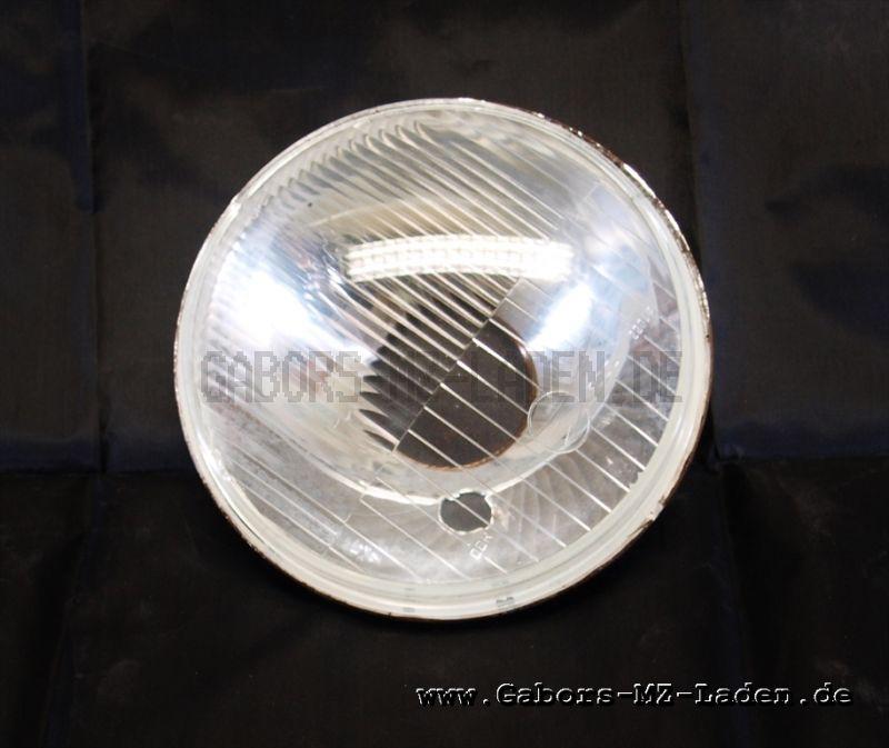 Scheinwerfereinsatz 8706.8/1 - mit Fassungsloch f. Standlicht - Ausschnitt für Lampenhalter ø45mm