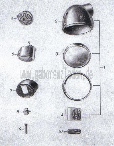 13. Scheinwerfer, Signalhorn, Kabelbaum