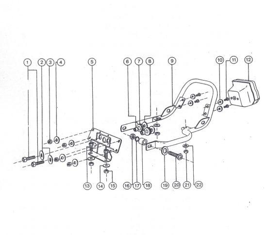 Haltebügel und BSKL- Befestigung