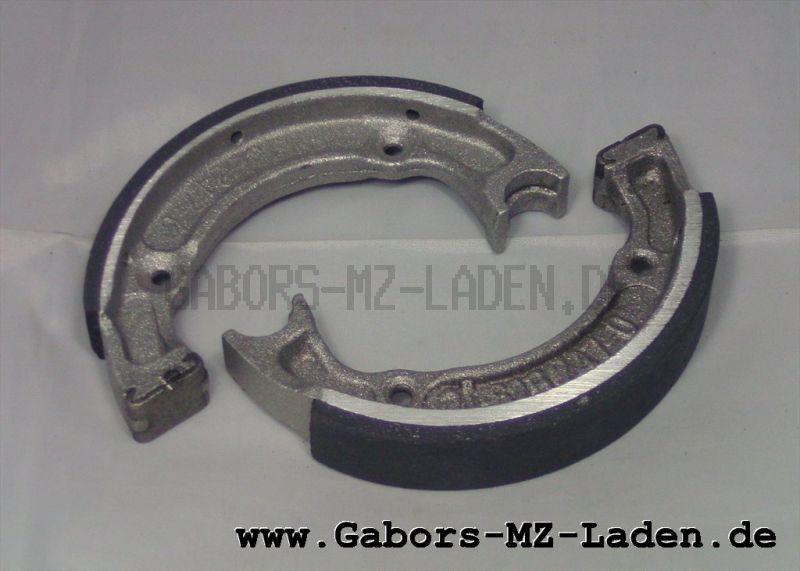 Satz Bremsbacken RT 125/1, 125/2 mit Belag regeneriert , Ausführung Aluminium, im Austausch