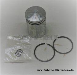 Riga 16, Werhovina Kolben + Ringe 38,25 für 10mm Kolbenbolzen