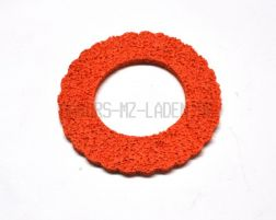 Tankschutzring aus Schaumgummi Orange für 60mm Tankdeckel