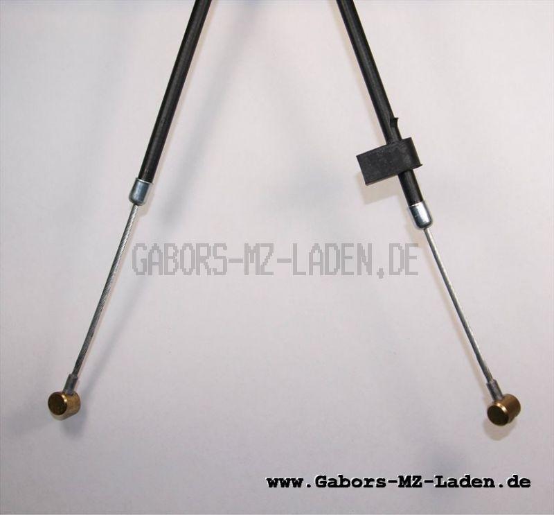 Bowdenzug/Seilzug - schwarz - Kupplung  IWL Troll  TR150