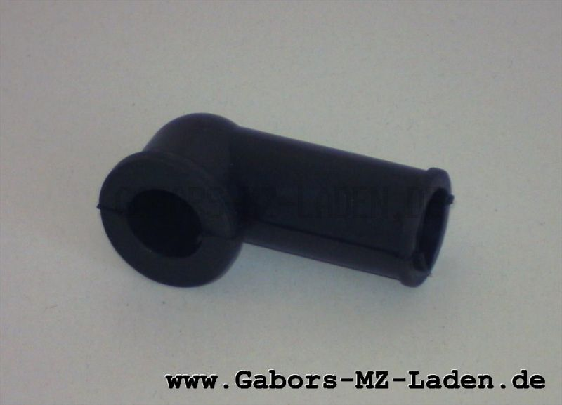 Rubber bushing for wiring on handle bar