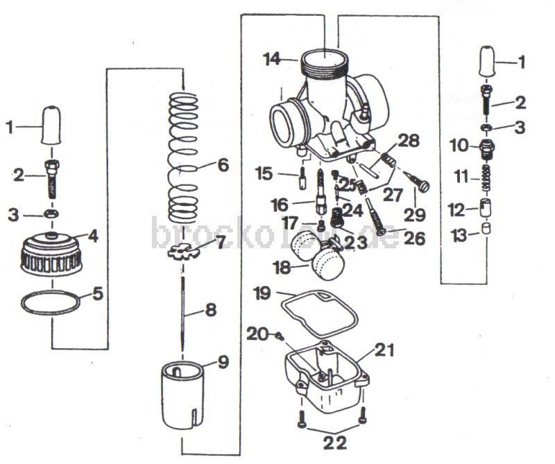 4.09. Vergaser BVF 30N2-5
