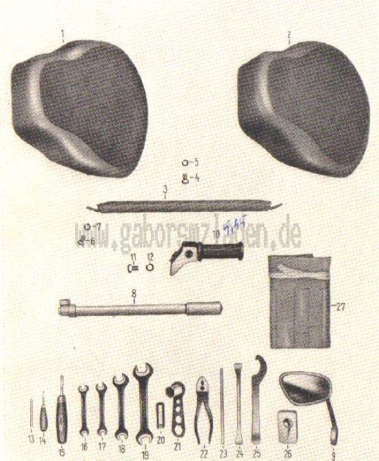 18. Sättel, Werkzeug, Zubehör