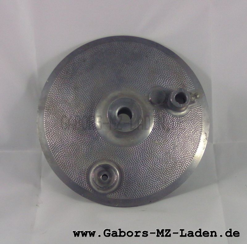 Gegenhalter Hinterrad, roh für 150mm Trommel