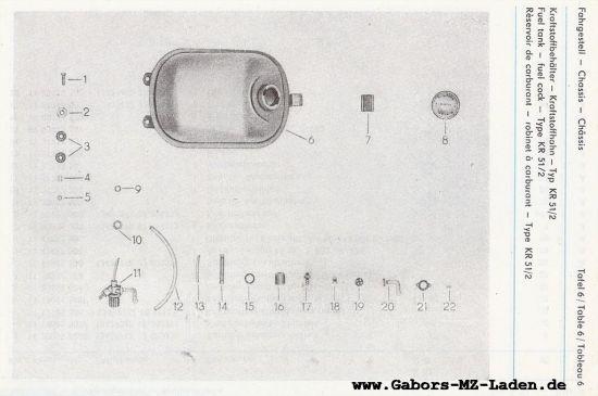 Fahrgestell - Kraftstoffbehälter (06)