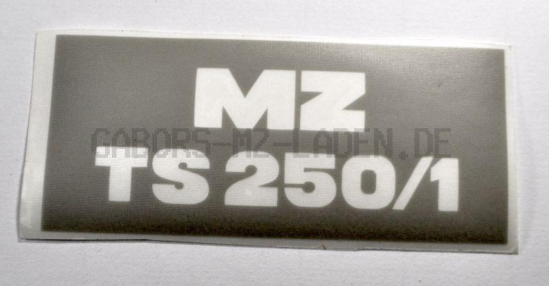 Lackierschablone für Werkzeugfachdeckel (Sitzbank) MZ TS 250/1
