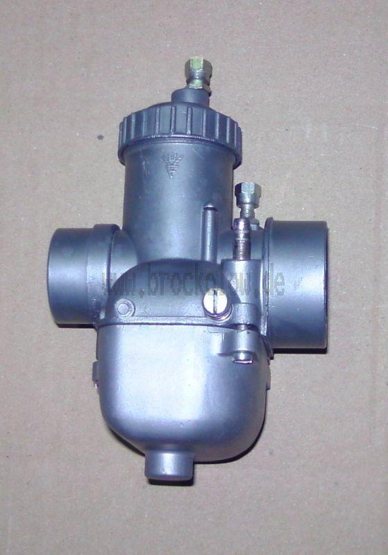 Startvergaser 26N1-3 (TS 250 Neckermann) regeneriert<br>Umgebaut auf Standgas über Schieberanschlag