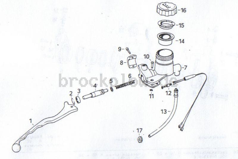 2.09.  Scheibenbremse - Bremsbetätigung