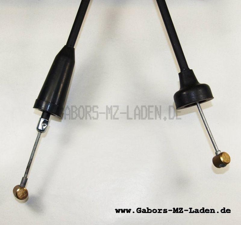 Bowdenzug/Seilzug -schwarz- Kupplung hoch