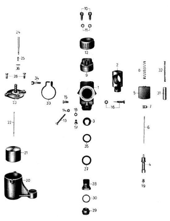 07. Vergaser Typ: BVF N 271-0
