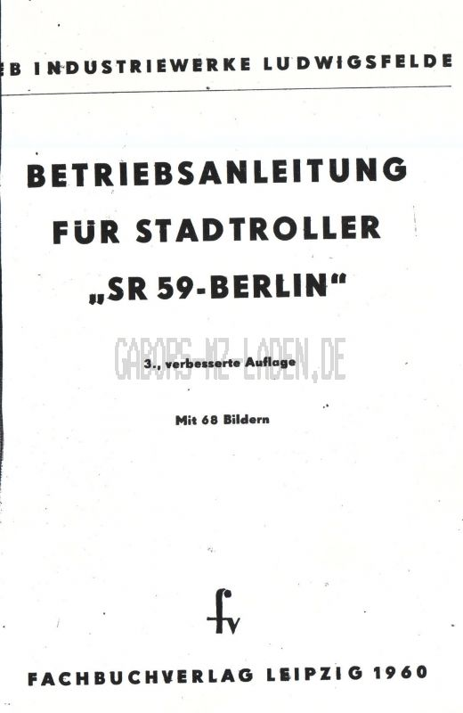 IWL SR 59 BERLIN