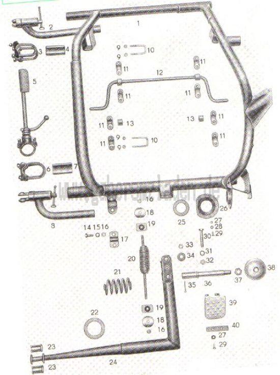 11. TM-Seitenwagen-Fahrgestell