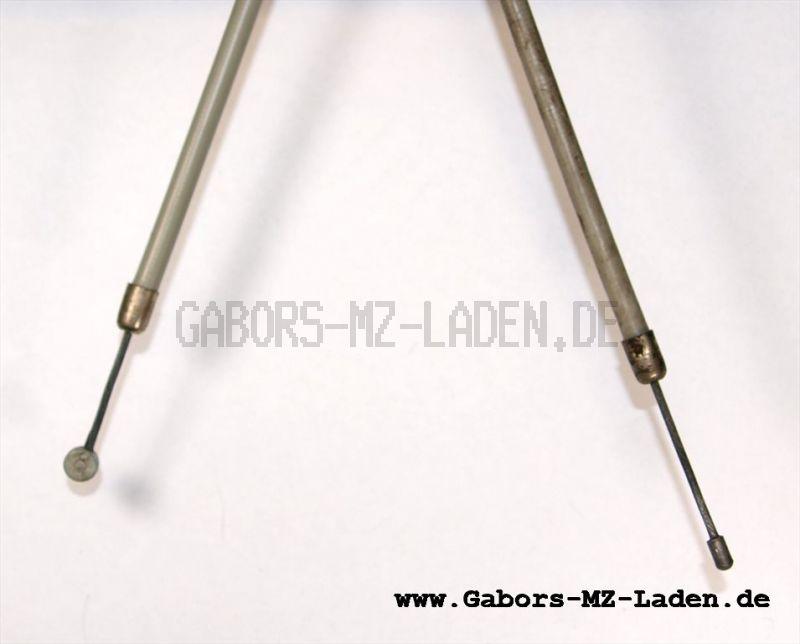 Bowdenzug/Seilzug Starter flach -grau- TS 125 150 ETS 125/1 150/1
