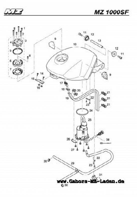 F30. Kraftstoffbehälter