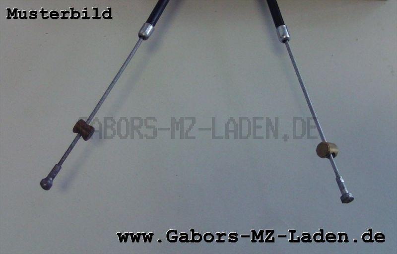 Bowdenzug/Seilzug -schwarz- Handbremse hoch