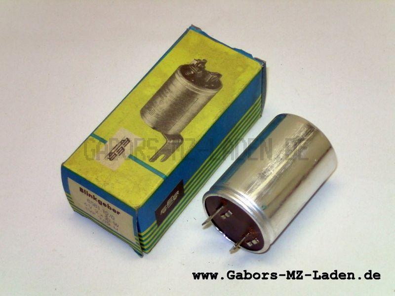 Blinkgeber 6V 2x21W - 8581.19/0 - pass. f. MZ TS, auch verwendbar bei Simson - in Originalverpackung