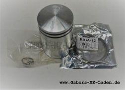 Riga Delta Kolben + Ringe + Bolzen + Sicherungsringe 39,50 für 12mm Kolbenbolzen