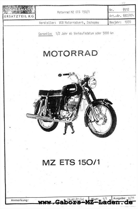 ETS 150/1