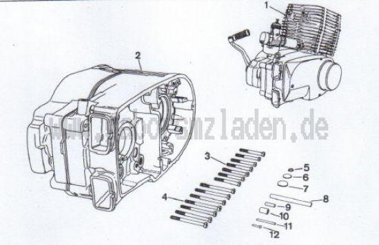 4.01 Ersatzmotor, Ersatzteilgehäuse