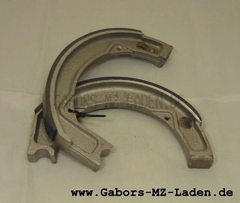 Satz Bremsbacken mit Belag regeneriert BK 350 mit Bremslichtkontakt