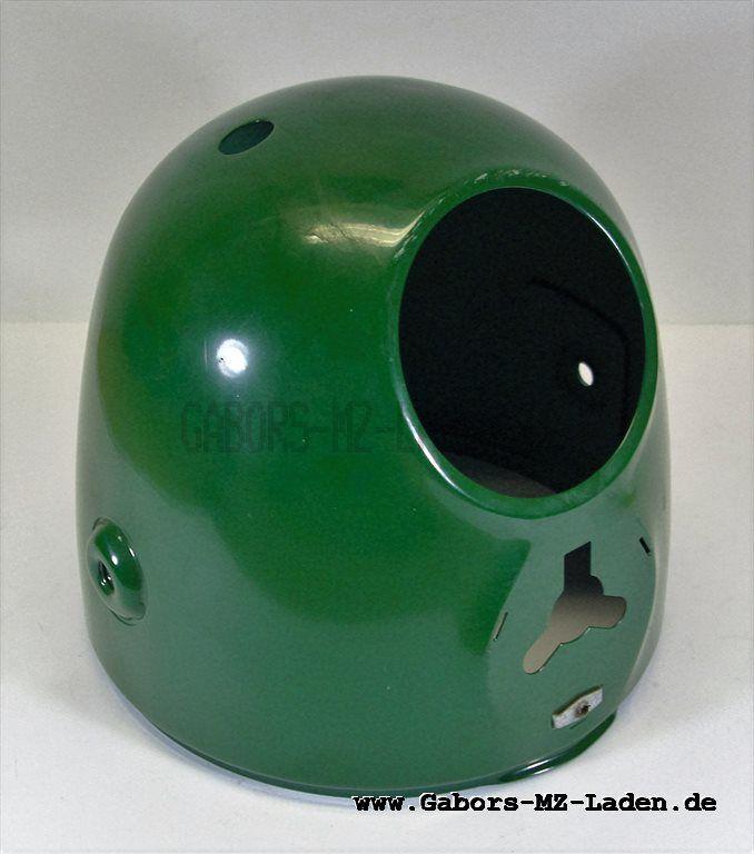 Scheinwerfergehäuse mit Tachoausschnitt, Billardgrün