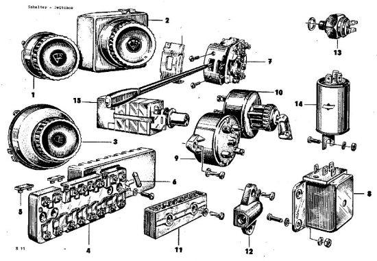 E11 Schalter