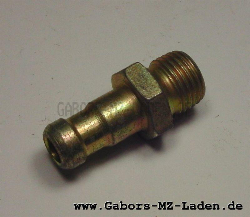 Schlauchnippel (Gewindeschlauchstutzen 6mm C6  TGL 39-388; 2921)
