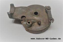 Bremsankerplatte vorn mit Belägen ca. 126mm Original NEU