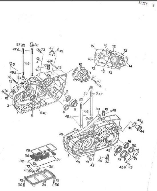 6.03 Motor - Kurbelgehäuse