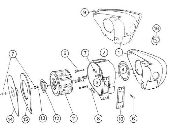 2.23 Fahrgestell - Verkleidung links