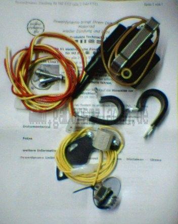Elektronische Zündung für MZ ETZ 125/150/250/251/301