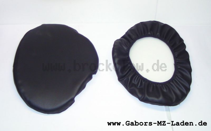 Set of protection covers for  sprung saddle (2 pieces)
