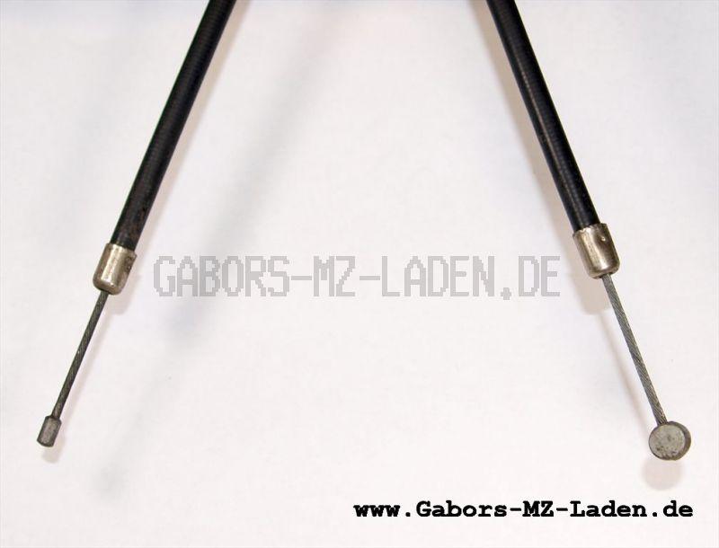 Bowdenzug/Seilzug -schwarz- Starter hoch