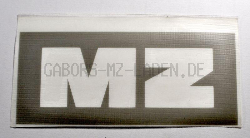 Lackierschablone für Werkzeugfachdeckel (Sitzbank) MZ