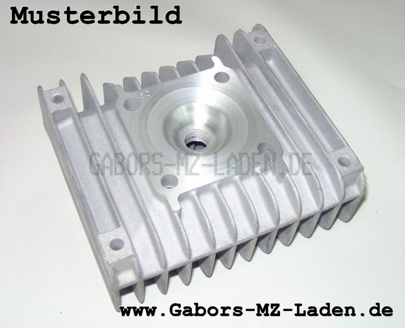 Originaler Zylinderkopf S61 Glasperlgestrahlt, Verdichtung ca. 1:10