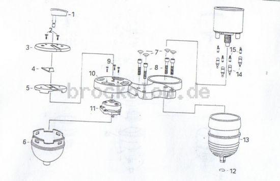 3.04. Instrumente Standardausführung
