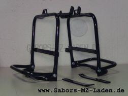 Seitengepäckträger Satz ETZ 250 passend für Pneumant Koffer, Klappbar mit Schraubensatz,Lagerspuren